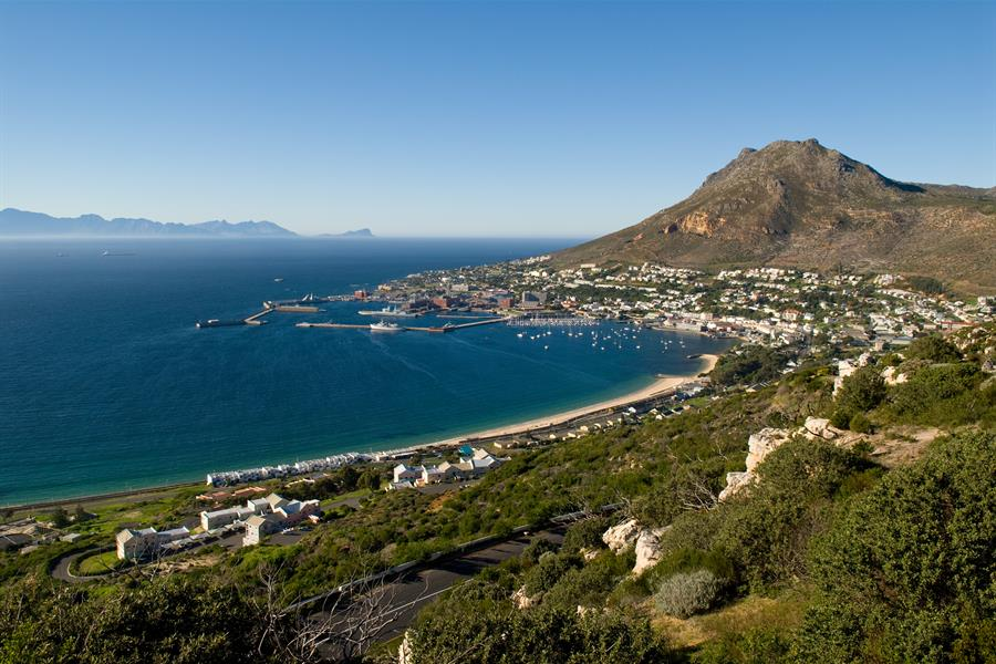 A town along the coast of Cape Province