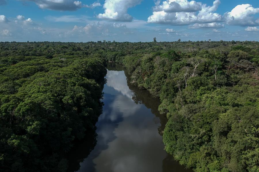 The Acará River in Brazil