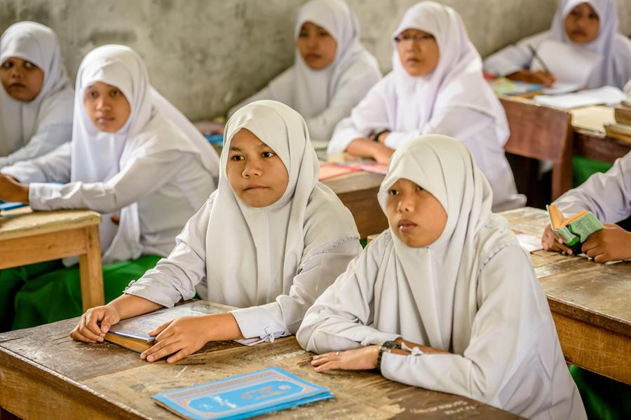 Purba Islamic Boarding School in North Sumatra