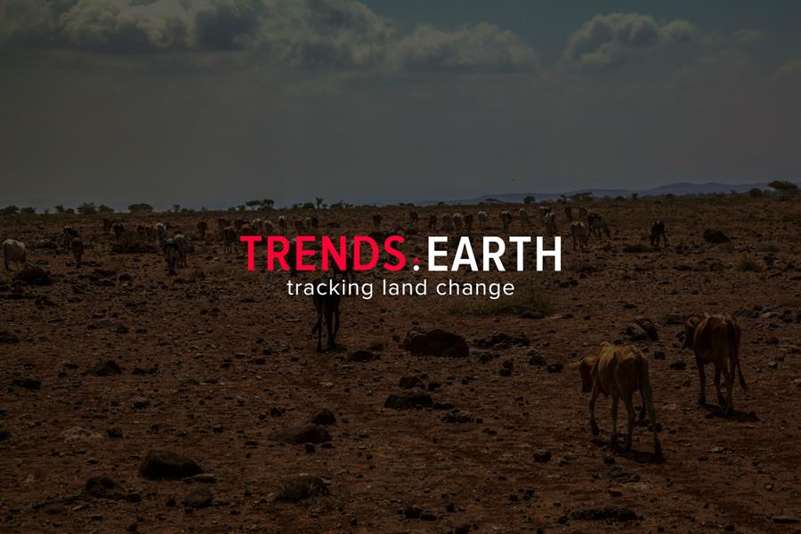 Using satellite imagery and global data, Trends.Earth can identify land that is no longer productive.