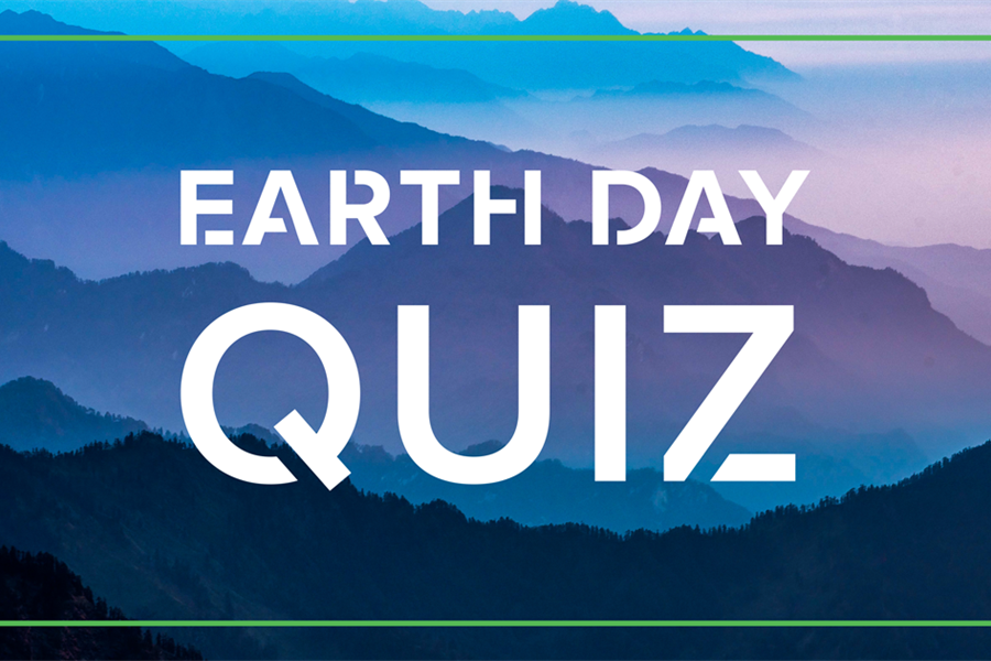 Take the Earth Day quiz