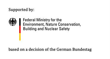 The German Federal Ministry for the Environment, Nature Conservation and Nuclear Safety (logo)