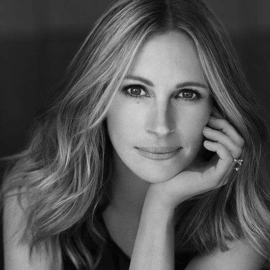 "Portrait of Julia Roberts, voice of ""Mother Nature"""